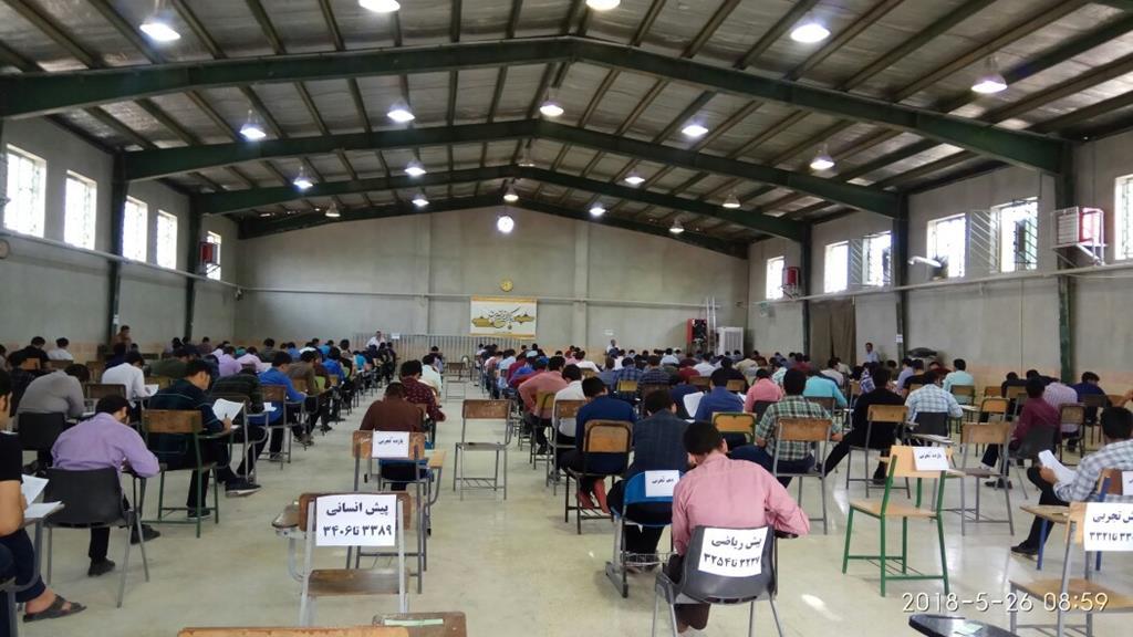 بازدید از حوزه امتحانات نهایی دیپلم وپیش دانشگاهی