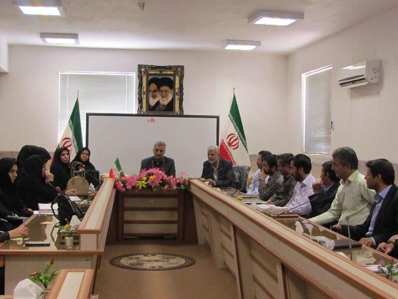 جلسه مدیران ابتدایی برگزار شد
