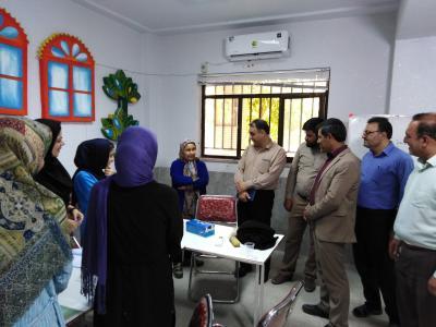 بازدید مدیر آموزش و پرورش شهرستان اردکان از مراکز اوقات فراغت