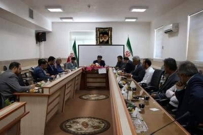 دویست و چهل و یکمین نشست شورای منطقه ای آموزش و پرورش شهرستان اردکان