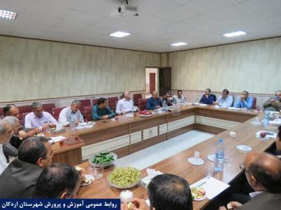 برگزاری جلسه شورای دبیران آموزشگاه حضرت سیدالشهداء(ع) - شاهد