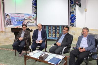 تشکیل دومین جلسه شورای دبیران دبیرستان نمونه سعدی