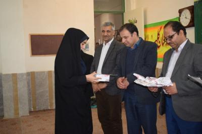 مراسم تجلیل از برترین های دبیرستان دخترانه رحمتی