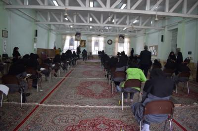 بازدید از جلسه آزمون پیشرفت تحصیلی مدارس استعدادهای درخشان(سمپاد)