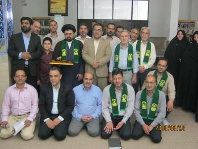 برگزاری جشن عید غدیر وتجلیل از سادات فرهنگی