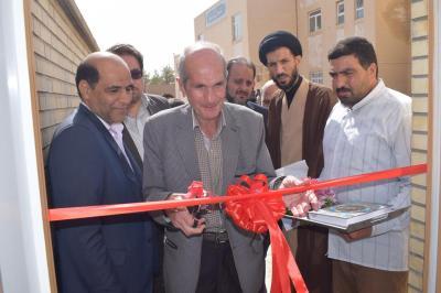 ساختمان خیّری خانه سرایداری آموزش وپرورش اردکان افتتاح گردید
