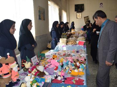 گزارش تصویری بازدید از بازارچه کارآفرینی آموزشگاه چهارده معصوم