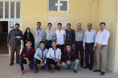 اعزام تیم پیشتازان شهرستان اردکان به اردوی ملی