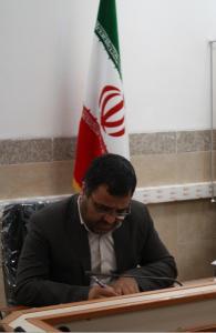 پیام تسلیت مدیر آموزش وپرورش به نماینده محترم شهرستان درمجلس شورای اسلامی