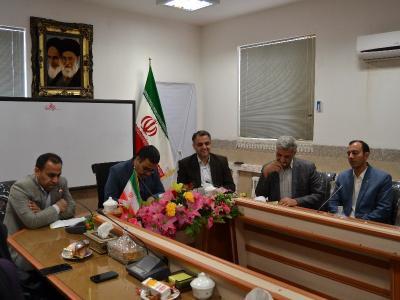 جلسه شورای اداری برگزار گردید.