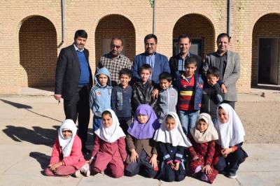 بازدید از مدارس خیام وبرکت عقدا ومدرسه حضرت مهدی (عج) روستای شمس آباد