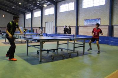 برگزاری مسابقات تنیس روی میز مقطع متوسطه اول