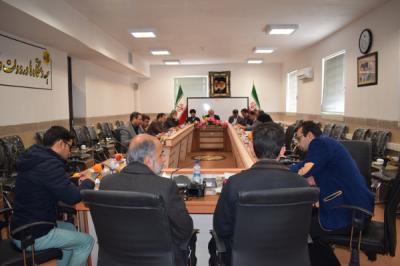 برگزاری دویست وبیست وپنجمین جلسه شورای آموزش وپرورش اردکان