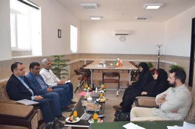 دیدار بااعضای شورای اسلامی ترک آباد