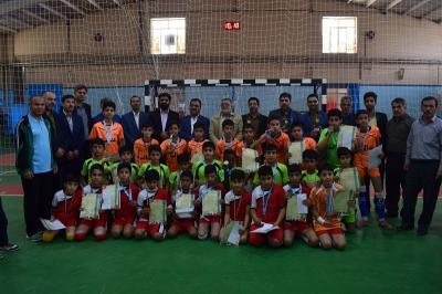 برگزاری مسابقات فوتسال ابتدایی دوره دوم پسران