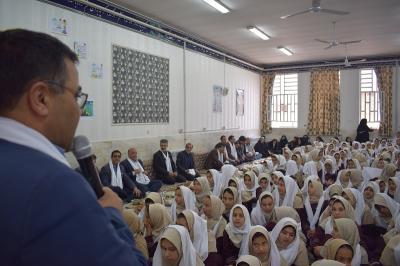 پویش ملی تغذیه سالم در دبستان بنت الهدی برگزار گردید.