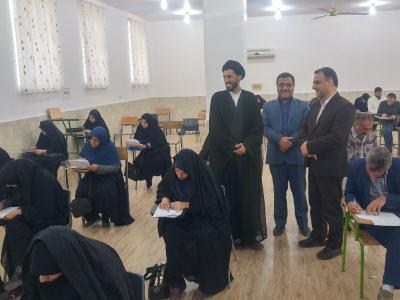 مسابقات معارف فرهنگیان برگزار گردید.