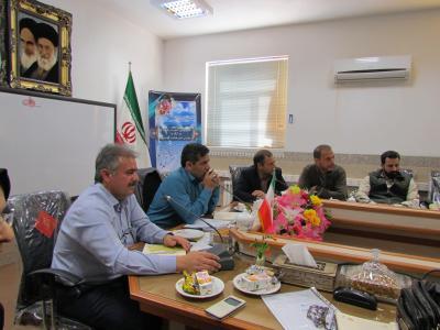 چهارمین جلسه مدیران متوسطه دوره اول برگزار گردید.