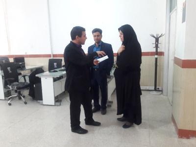گزارش تصویری از بازدید سرگروه های استان از مدارس فنی حرفه ای شهرستان