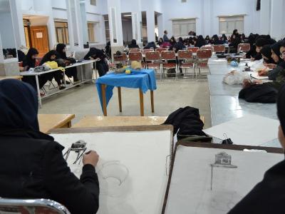 سی و هفتمین دوره مسابقات فرهنگی هنری دانش آموزی برگزار شد.