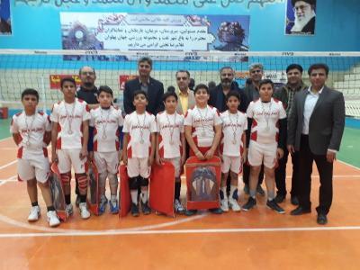 مسابقات مینی والیبال استانی در شهرستان تفت برگزار گردید.