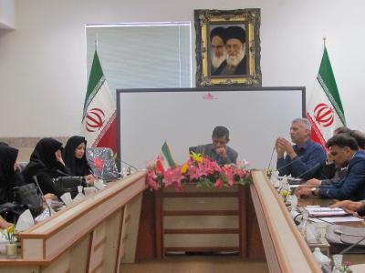 جلسه توجیهی کنکور ویژه مدیران برگزار شد.