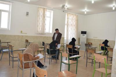 بازدید از حوزه امتحانات نهایی