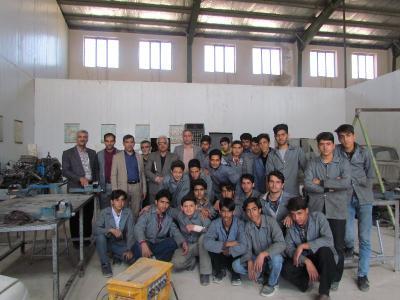 بازدید رئیس آموزش های فنی و حرفه ای و کاردانش اداره کل از آموزشگاه های شهرستان اردکان