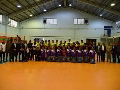 مسابقات والیبال متوسطه دوره دوم پسران استان یزد برگزار شد.