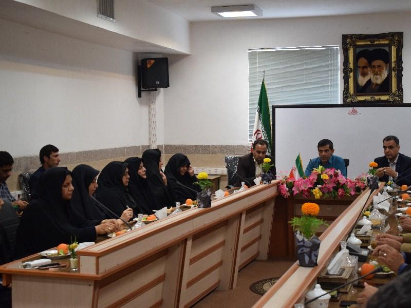 برگزاری آخرین جلسه شورای اداری سال 97