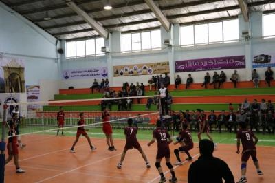 برگزارمسابقات والیبال آموزشگاه های استان یزد