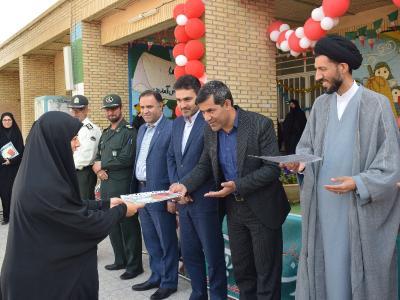 جشن سپاس معلم در دبستان بنت الهدی برگزار شد