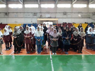 برگزاری مسابقات طناب زنی با برتری تیم های آموزشگاه مادر و22بهمن
