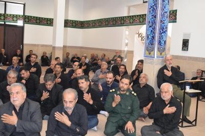 برگزاری مراسم سوگواری حضرت اباعبدالله الحسین(ع)