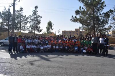 مسابقه دو صحرانوردی به مناسبت سیزده آبان