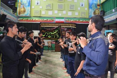 مراسم پرشور احلی من العسل با حضور دانش آموزان اردکانی برگزارشد