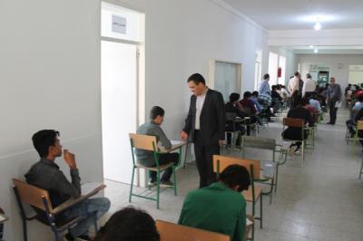 بازدید از امتحانات به روایت تصویر