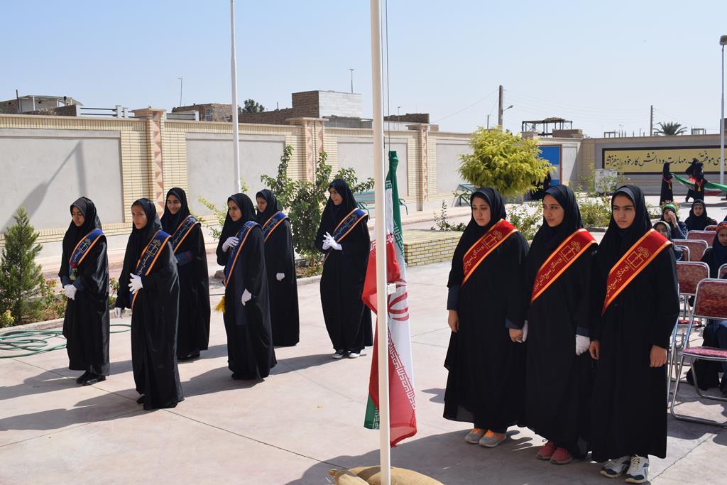 مراسم جوانه ها در دبیرستان حضرت مریم (س) برگزارشد