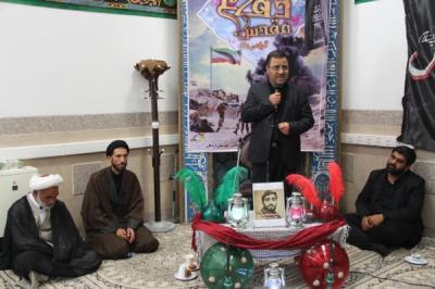 عزاداری آقا اباعبدالله الحسین (ع)در محل اداره آموزش وپرورش
