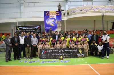 برگزاری مسابقات مینی والیبال استانی مدارس ابتدایی