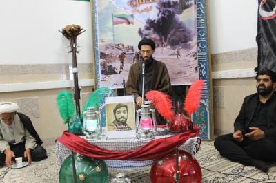 گزارش تصویری مراسم عزاداری آقااباعبدالله الحسین(ع) درمدیریت آموزش وپرورش