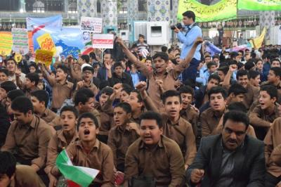 گزارش تصویری مراسم سیزده آبان،روز دانش آموز وروز مبارزه بااستکبار جهانی