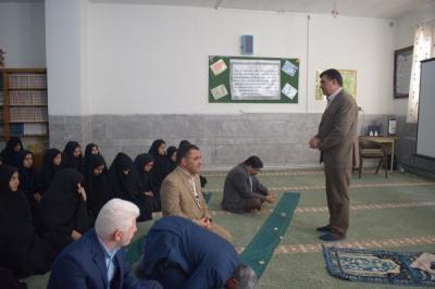 گزارش تصویری بازدید معاونت پرورشی اداره کل آموزش وپرورش