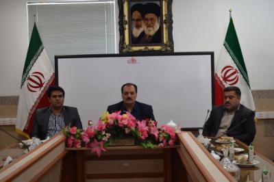 نشست مشترک رییس اداره سوادآموزی استان با آموزش دهندگان