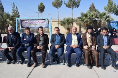 برگزاری مانور زلزله در دبستان شهید اکبر کمالی