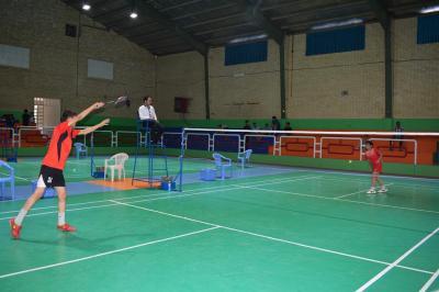 برگزاری مسابقات بدمینتون دانش آموزی استان